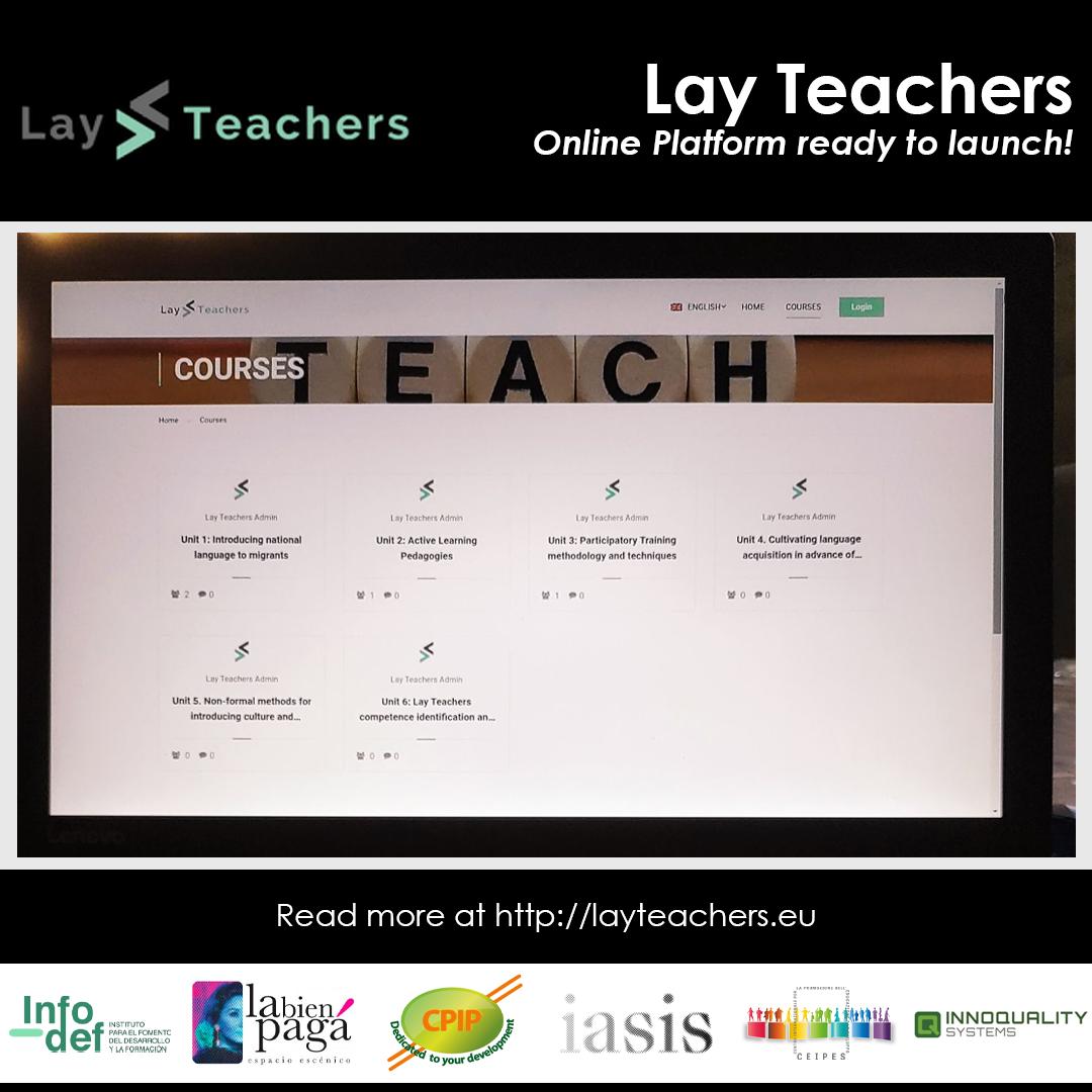LAY TEACHERS!